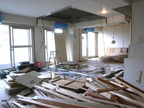 板橋区中台マンション 解体工事 アスベスト処分