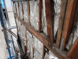 外壁解体工事