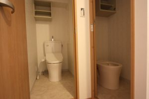 トイレの壁も、こんな感じで素敵に仕上がりました!