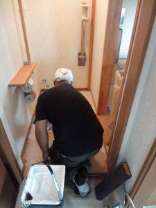 トイレ交換1