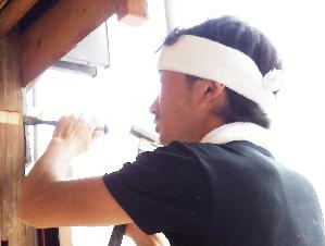 池田さんは仕事がとにかく丁寧!仕上げもキレイ!まったく隙がありません。